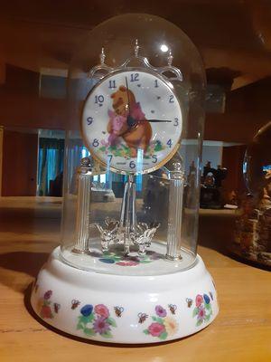 Winnie the pooh Disney Porcelain Anniv Clock for Sale in San Jose, CA