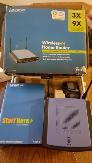 Linksys N series wireless router for Sale in Saint Albans, WV