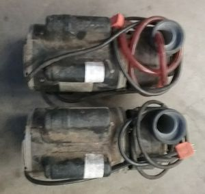 Jacuzzi hot tub pumps removed from working unit for Sale in Riverside, CA