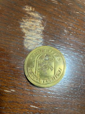Antique sheriff Arizona territory pin for Sale in Bellflower, CA