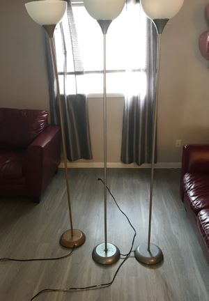 6 Ft floor lamps for Sale in Hampton, VA