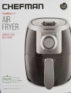 NEW Chefman TurboFry Air Fryer - compact size 2.1 qt for Sale in Aiea, HI