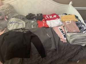 Brand new hoodies and shirts and jackets (Nike,champion,old navy,PINK) for Sale in Burleson, TX