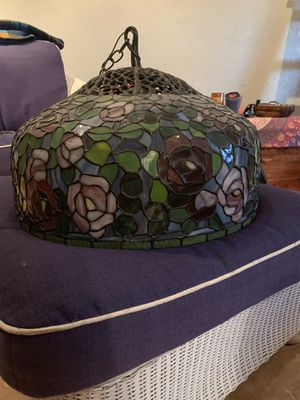 Tiffany style stained glass lamp for Sale in Fort Lauderdale, FL