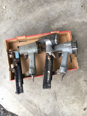 Lot of 3 Pneumatic Tools - Impact Wrench Nailers Staplers - RN for Sale in Lakewood, WA