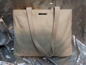DKNY Cream Leather Shopper Tote Purse for Sale in Traverse City, MI