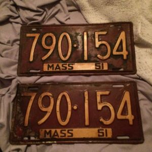 license plates for Sale in Holbrook, MA