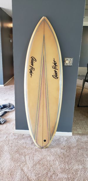 Quiet flight twin fin surfboard for Sale in Deerfield Beach, FL