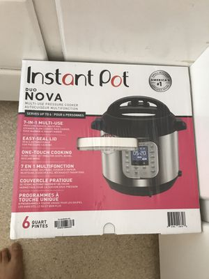 Instant Pot for Sale in Fowler, CA