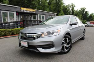 2017 HONDA ACCORD SEDAN for Sale in Stafford Courthouse, VA