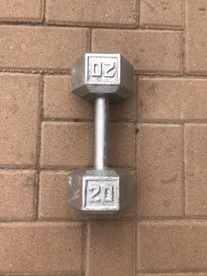 One Dumbbell 💪🏽 20lb 20lbs 20 pounds for Sale in Phoenix, AZ