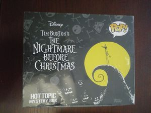 Hottopic Nightmare before Christmas box for Sale in Lake Mary, FL