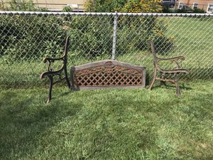 Iron bench for Sale in Posen, IL