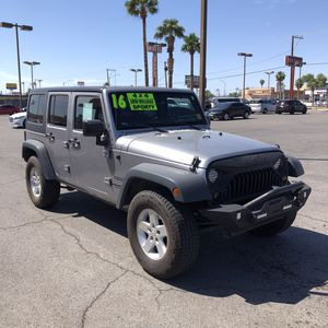 2016 Jeep Wrangler 4x4 GOOSE@ Automax for Sale in Las Vegas, NV