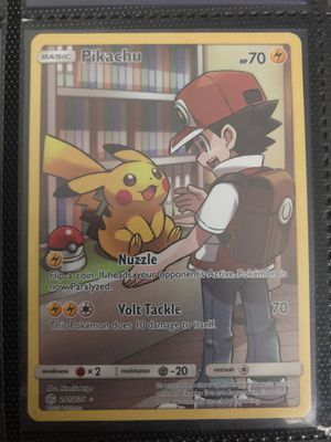Pokemon cards pikachu for Sale in Downey, CA