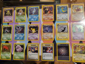 Pokemon cards TEAM ROCKET COMPLETE SET 83/82 1ST EDITION MINT.. SHOOT ME OFFERS. LOWBALL OFFER WILL BE IGNORED for Sale in The Bronx, NY