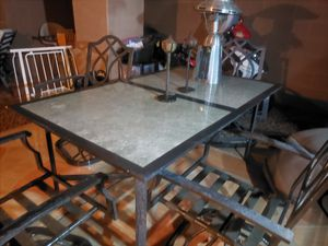 Table, 4 Chairs, and 2 Pool Loungers for Sale in Chandler, AZ