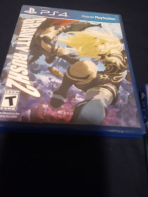 Gravity Rush 2 For PS4 $20 PICK UP IN HENDERSON for Sale in Henderson, NV
