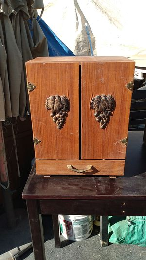 Antique liquor cabinet for Sale in Phoenix, AZ