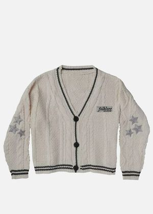 Taylor Swift Cardigan FOLKLORE Sweater M/L Cable Knit IN HAND 100% New! AUTH! for Sale in Tempe, AZ