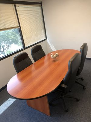 Conference table w/ chairs for Sale in Tampa, FL