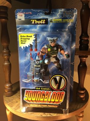 Rob Liefeld's Youngblood TROLL Series 1 Ultra-Action Figure McFarlane Toys 1995 for Sale in Leander, TX