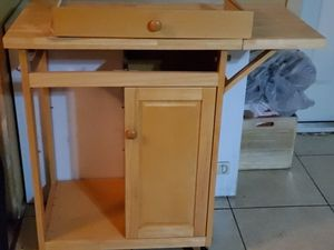Rolling kitchen island for Sale in Mesa, AZ