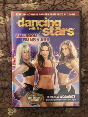 Dancing With the Stars Ballroom Buns & Abs Dance Workouts & Exercise Routines Adapted From ABC's Hit Show for Sale in Miami, FL
