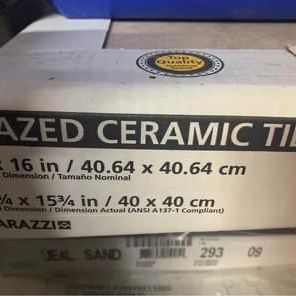 Glazed Ceramic Tiles (15 Unopened Boxes) for Sale in Vancouver, WA