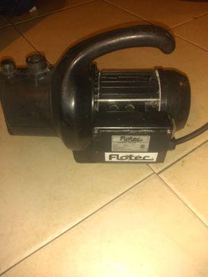 Flotec portable sprinkler pump for Sale in Palm Springs, FL