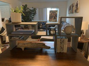 Handmade organizational desk hutch for Sale in Coronado, CA