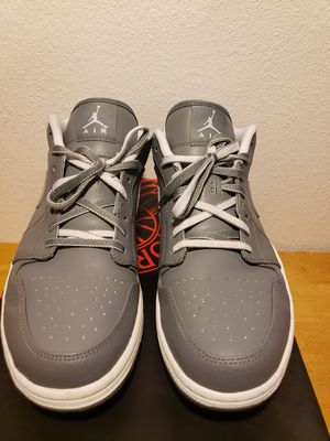"Retro Air Jordan 1 Low ""Cool Grey"" Sz 11.5 for Sale in Phoenix, AZ"