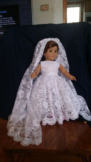 Bride gown for 18 inch doll for Sale in Stephenson, VA