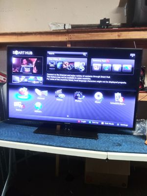 46 inch Samsung smart tv LED really thin tv for Sale in Los Angeles, CA