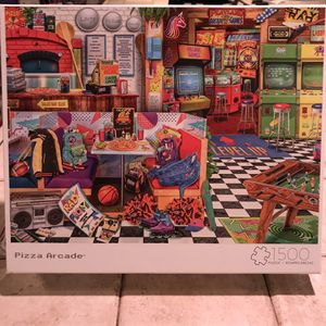 NEW!!! 1500 Piece Puzzle PIZZA ARCADE for Sale in Torrance, CA
