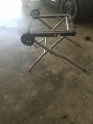 Ryobi rts31 table saw stand for Sale in Lake Stevens, WA