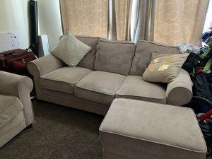 Cream sofa set for Sale in Alexandria, VA