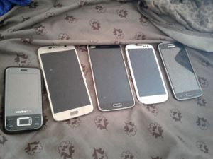 Samsung Galaxy phones, s6, s5 ,s3 and galaxy avant for Sale in Las Vegas, NV