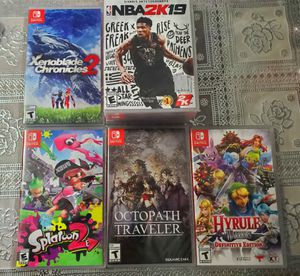 nintendo switch games 40 each for Sale in Los Angeles, CA