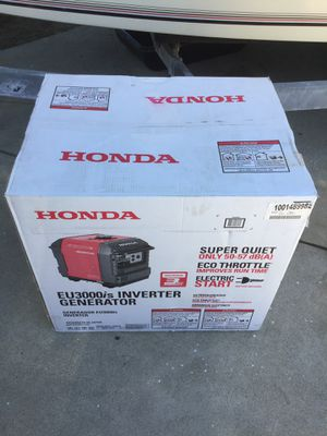 HONDA GENERATOR IN CAMPING & RVs BRAND NEW IN FACTORY SEALED BOX for Sale in Montclair, CA
