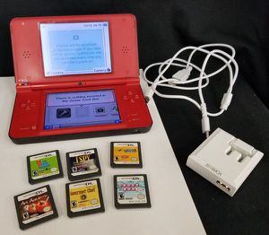 NINTENDO DSi XL w/ Charger 3 Adult Games 3 Kids Games UTL-001 Reset Tested/WORKS for Sale in Chattanooga, TN