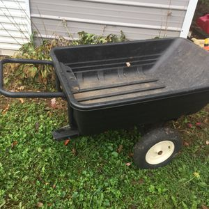 Wheel barrow, hand push or tow behind for Sale in Edison, NJ