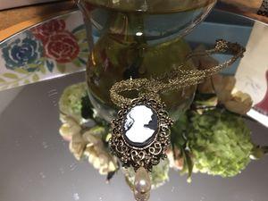 Pretty! Girls Victorian Cameo Necklace for Sale in Gainesville, VA