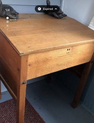 Desk with inside storage for Sale in Batavia, IL