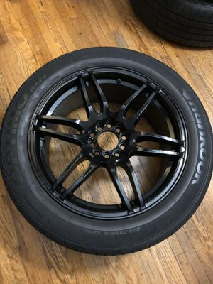 """4 SUV Niche Racing 18"""" rims wheels tires 235/55 18 for Sale in Chicago, IL"""