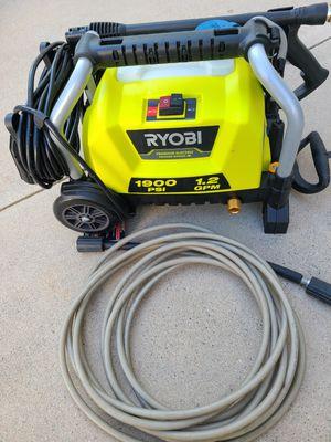 RYOBI 1900 PSI 1.2 GPM Cold Water Wheeled Electric Pressure Washer for Sale in Murrieta, CA