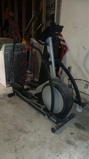 Nordictrack elliptical . For sale or trade for mountain bike or road bike .. FREE ab lounge with purchase of Elliptical for Sale in Rialto, CA