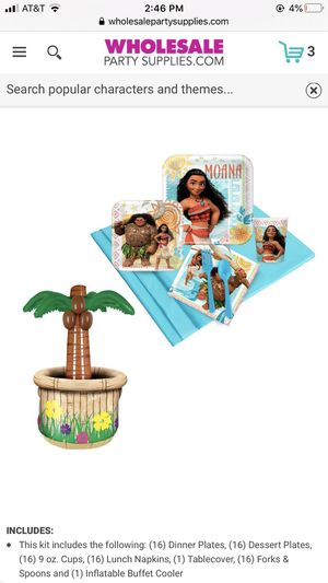 Moana Birthday Decorations for Sale in Henderson, NV