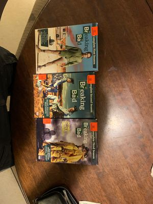 Breaking bad season one two and three for Sale in Everett, WA
