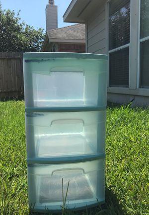 Sterilite Light Blue Storage for Sale in Cypress, TX